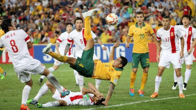 تيم كاهيل يقود استراليا لهزيمة الصين والوصول لنصف نهائي كأس آسيا