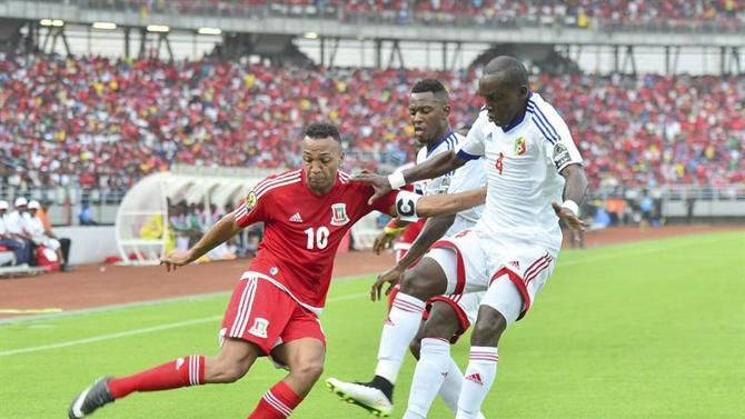 من مباراة الافتتاح بين غينيا الاستوائية والكونغو