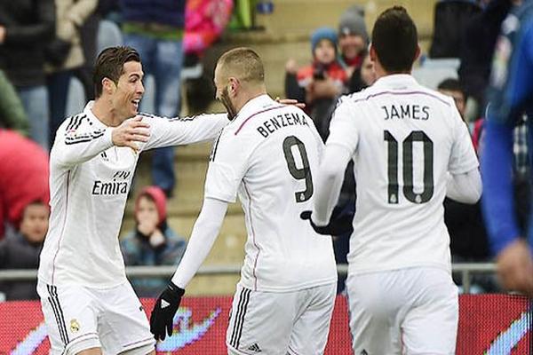 رونالدو ثالث أبرز هدافي ريال مدريد عبر تاريخه