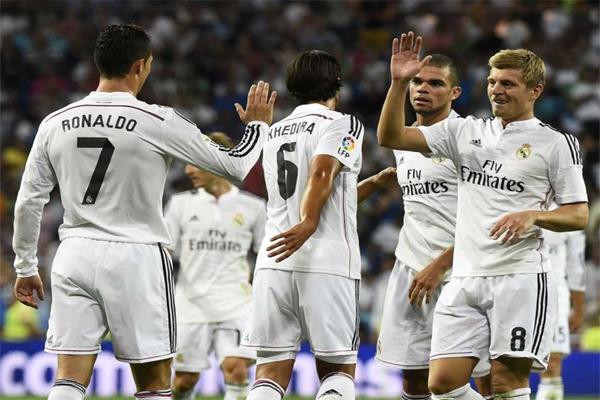 ريال مدريد الأكثر تهديفياً