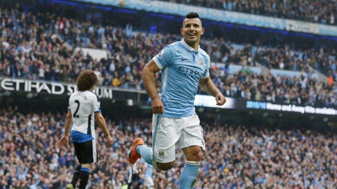 أغويرو يقود مانشستر سيتي لفوز كاسح على نيوكاسل يونايتد