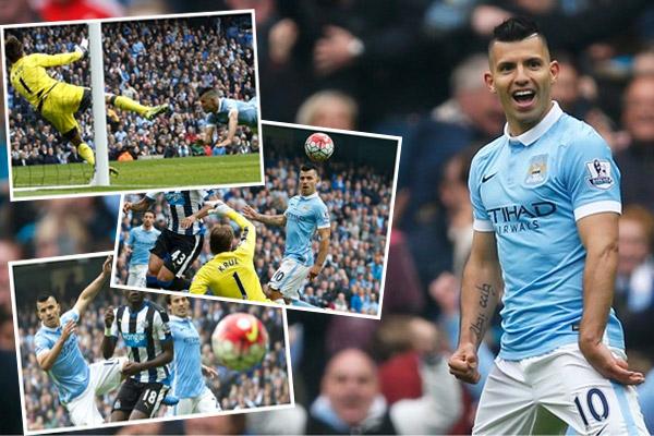 النجم الأرجنتيني سجل خماسيته في مدة 20 دقيقة