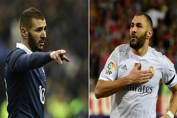 كريم بنزيمة يعيش مستويات متباينة في صفوف ريال مدريد ومنتخب بلاده