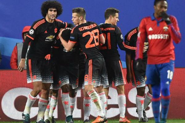 مارتيال ينتزع تعادلاً ثميناً لمانشستر يونايتد في ملعب سسكا موسكو