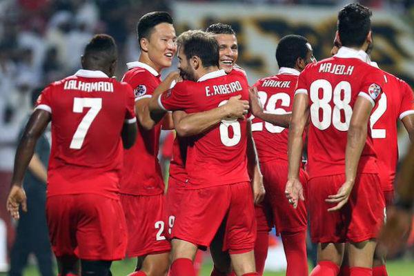 لاعبو الأهلي الإماراتي