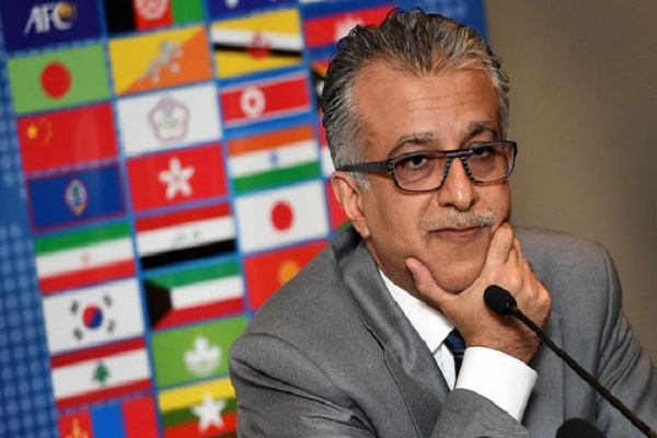 الشيخ سلمان بن ابراهيم ال خليفة رئيس الاتحاد الاسيوي