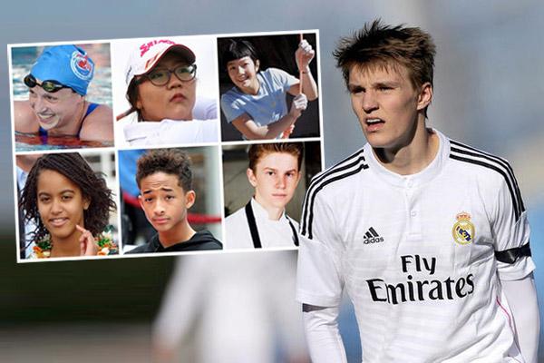 نجم ريال مدريد ضمن قائمة المراهقين الأكثر تأثيرا
