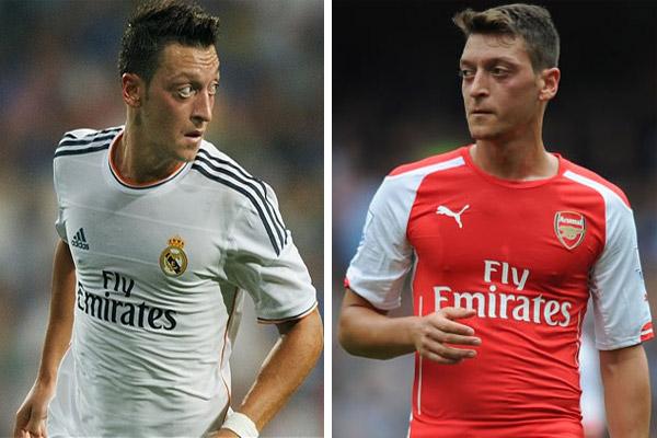أوزيل قدم مستويات لافتة مع ريال مدريد أكثر مما قدمها مع أرسنال