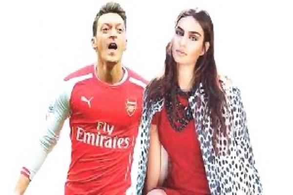 أوزيل يعتزم الزواج من ملكة جمال تركيا آمنة جولشن