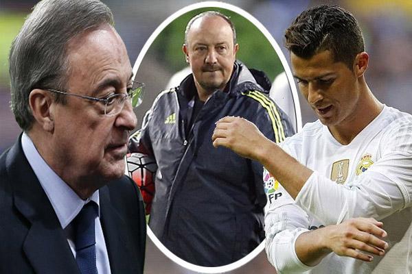 رونالدو يساوم ريال مدريد