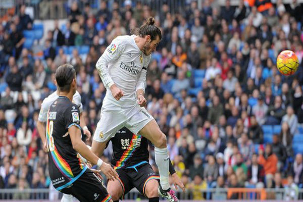 غاريث بيل سجل رباعية في فوز ريال مدريد العريض على فايكانو