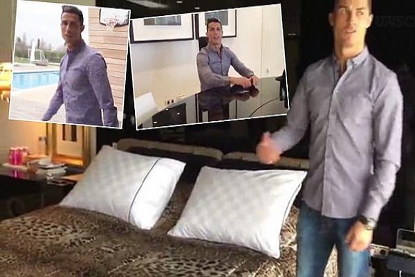 رونالدو يكشف تفاصيل قصره الفاخر في مدريد