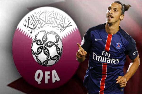 إبراهيموفيتش لا يستبعد إمكانية احترافه في احد أندية الدوري القطري