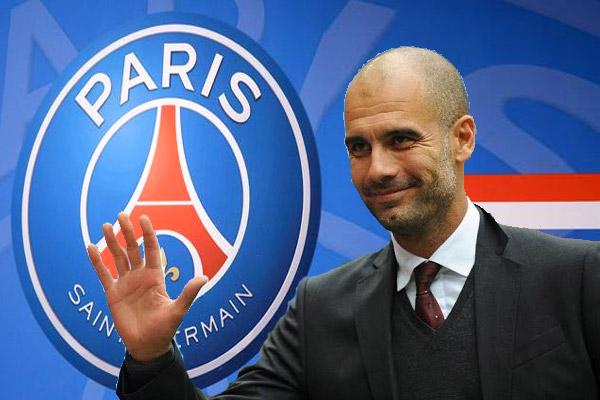 نادي باريس سان جرمان لم يتصل بغوارديولا