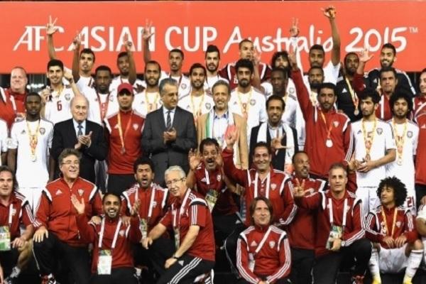 منتخب الإمارات الأول ثالث آسيا