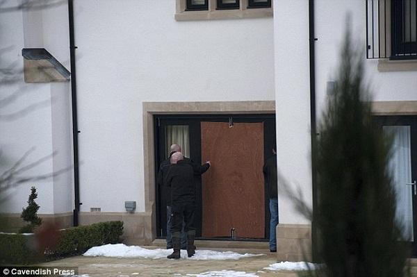 منزل دي ماريا بعد تعرضه للسطو
