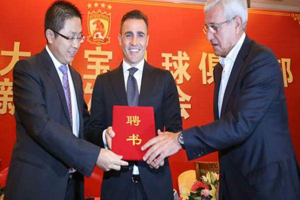 كانافارو يخلف ليبي في تدريب غوانغجو الصيني