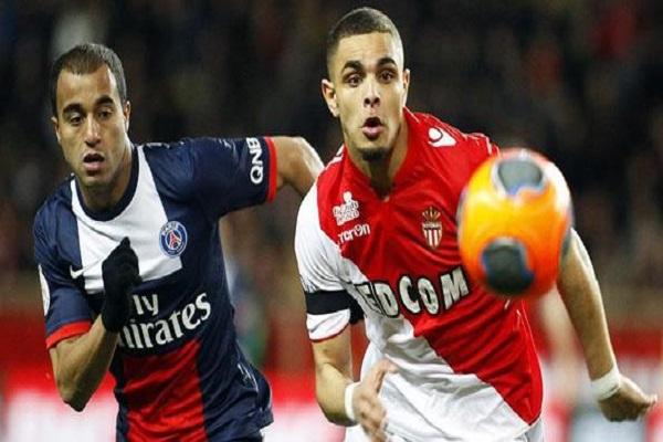 موقعة نارية بين موناكو وسان جرمان في الدوري الفرنسي