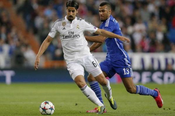 خضيرة في مباراة ريال مدريد وشالكه الأخيرة بدوري الأبطال
