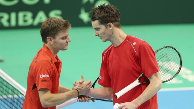 بلجيكا جردت سويسرا من اللقب وستقابل كندا في ربع النهائي