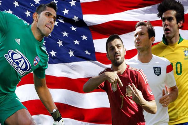 الإنكليزي لامبارد والبرازيلي كاكا يتصدران قائمة الأعلى راتباً في الدوري الامريكي