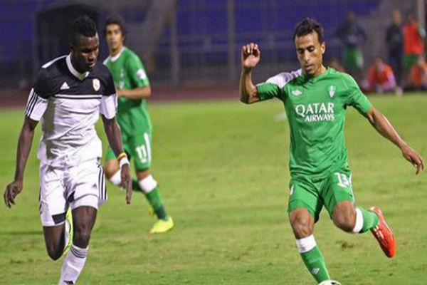 مباراة سابقة للأهلي في الدروي السعودي
