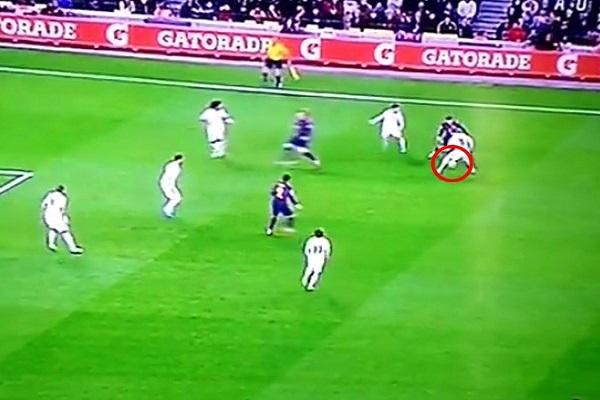أنصار ريال مدريد يردون على ميسي بـ