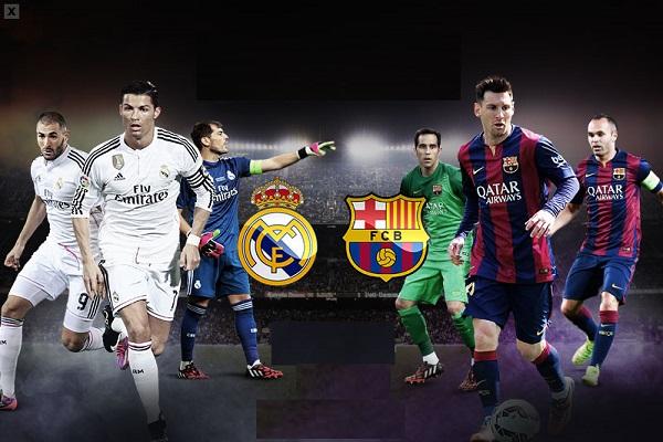 التشكيلة المحتملة لموقعة الكلاسيكو بين برشلونة وريال