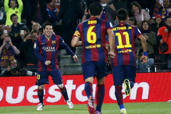ميسي يعيش حالياً فترة رائعة مع برشلونة