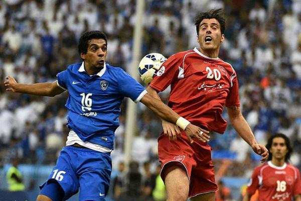 من مباراة الهلال وبيروزي الإيراني