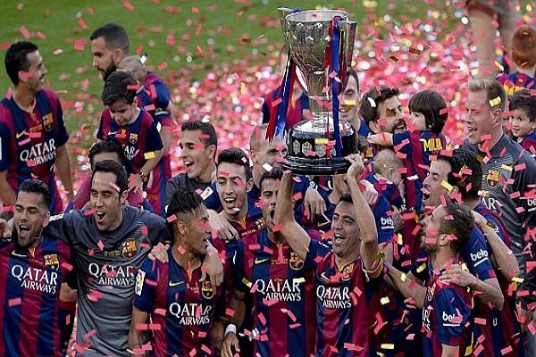 برشلونة يسيطر على تشكيلة المثالية للدوري الإسباني