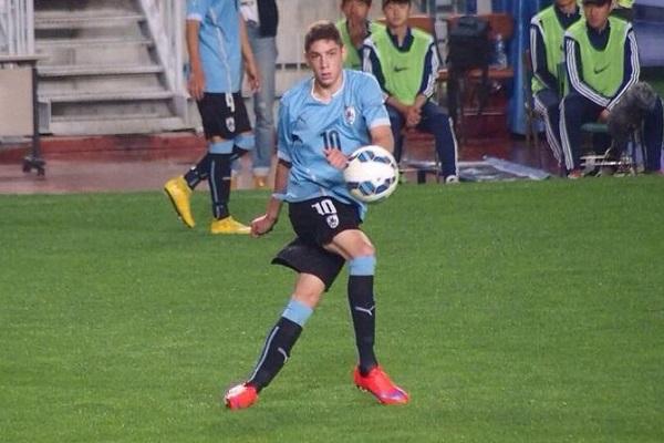 اللاعب الأرجنتيني الشاب فردريكو فالفيردي.