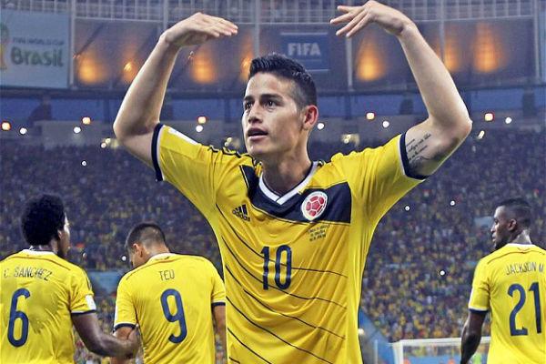 خاميس رودريغيز أبرز نجوم كولومبيا في كوبا أميركا