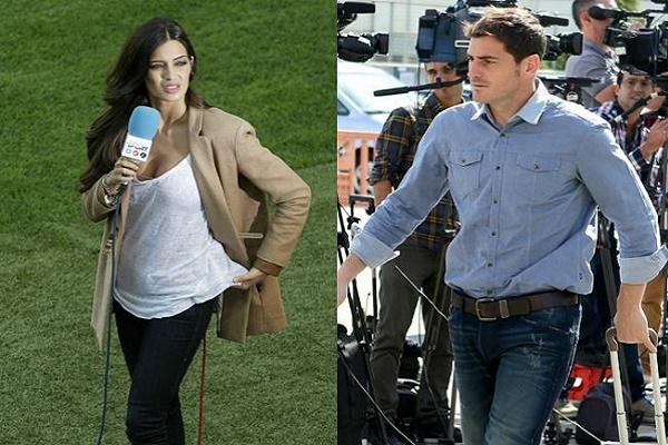 سارة كاربونيرو دليل جديد على قرب رحيل كاسياس عن ريال