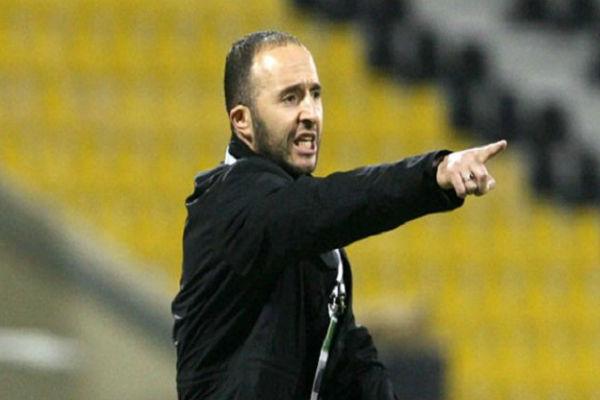 المدرب الجزائري جمال بلماضي