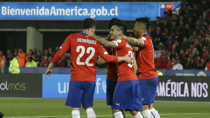 تشيلي تتأهل إلى ربع نهائي كوبا أميركا في الصدارة