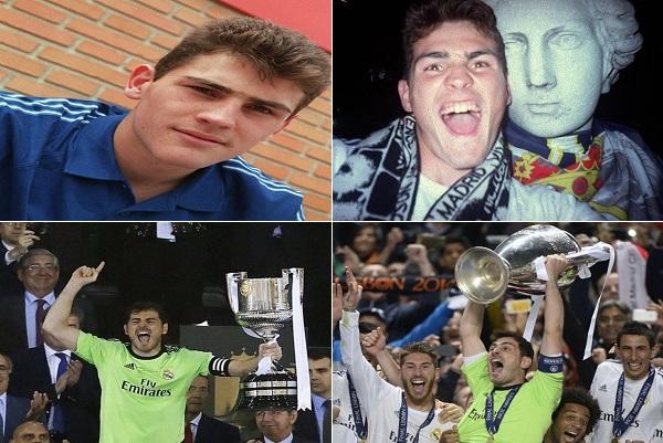 مسيرة إيكر كاسياس مع ريال مدريد .. في صور