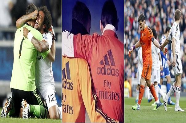 لاعبو ريال مدريد لإيكر كاسياس: وداعاً !