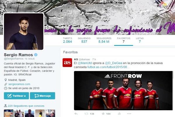 راموس يزف خبرا سارا لجماهير ريال مدريد بشأن دي خيا