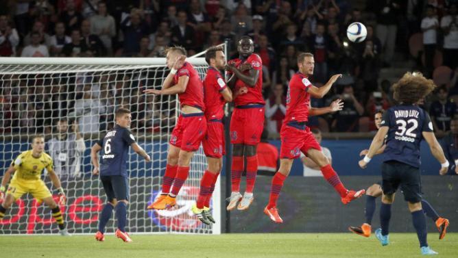من مباراة باريس سان جيرمان وغازيليك أجاكسيو