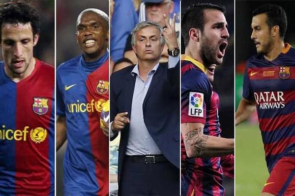 مورينيو يواصل اصطياد نجوم برشلونة