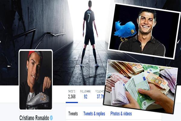 رونالدو يعتبر الرياضي الأول عالمياً في مواقع التواصل الاجتماعي