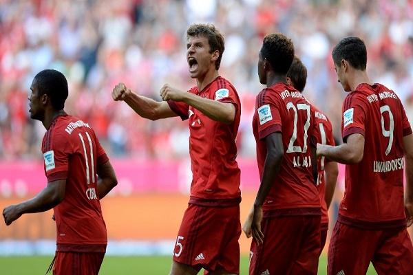 الفوز الرابع لبايرن ميونيخ
