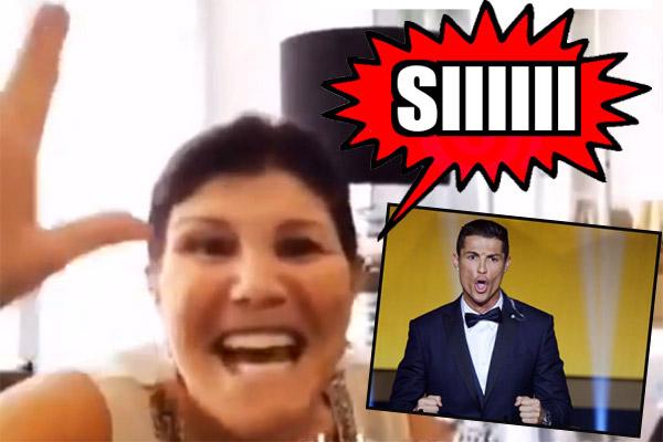 والدة رونالدو تفاجئ متابعيها على موقع إينستغرام