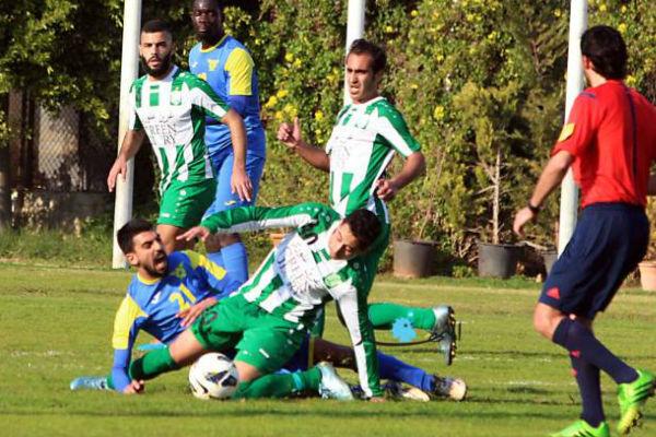 من مباراة الأنصار والصفاء بكأس لبنان
