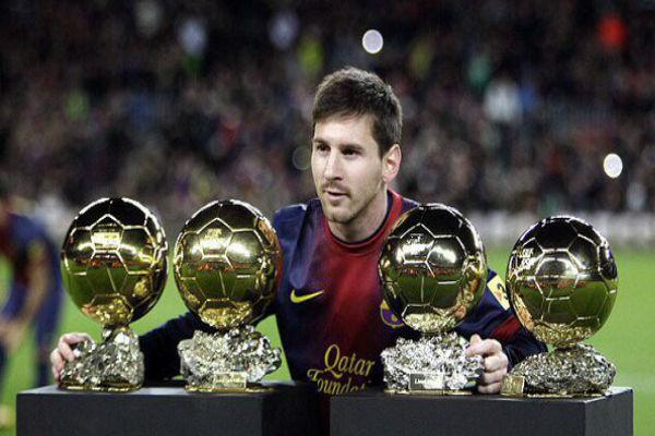ميسي أكثر من فاز بجائزة الكرة الذهبية وبإمكانه الابتعاد أكثر