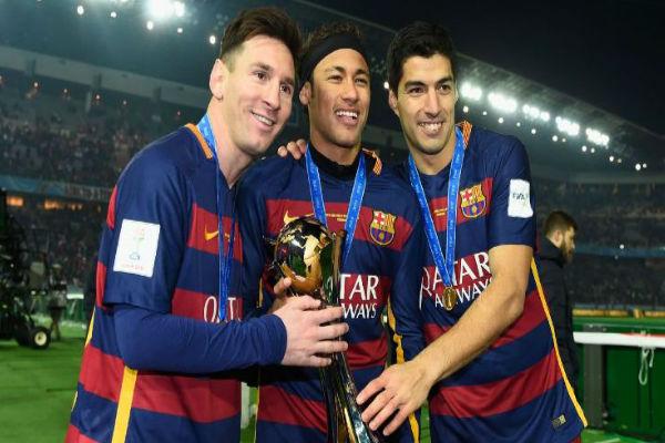 ثلاثي برشلونة الشهير ضمن قائمة أغلى اللاعبين عالمياً