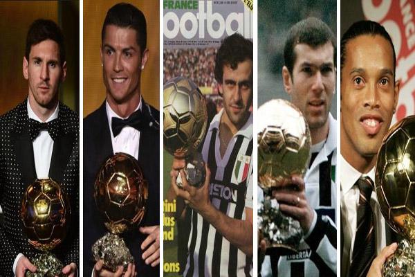 نجوم حققوا جائزة الكرة الذهبية