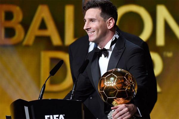 ميسي لا يعلم كم من مرة سيفوز بجائزة أفضل لاعب في العالم