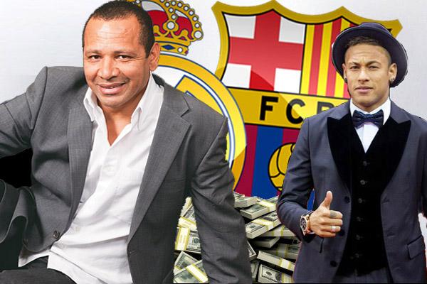 والد نيمار يدحض الشائعات حول انتقال نجله إلى مدريد
